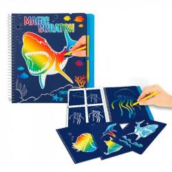 Dino World Magic-scratch book underwater world