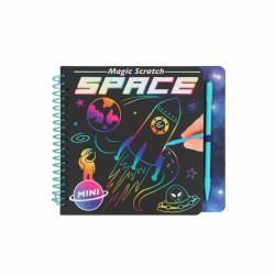 Mini Magic Scratch Book Space
