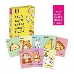 Juego Taco,Gato,Cabra,Queso,Pizza   LÚDILO