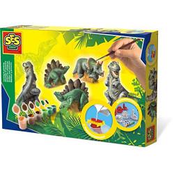 Moldear y pintar dinosaurios SES Creative