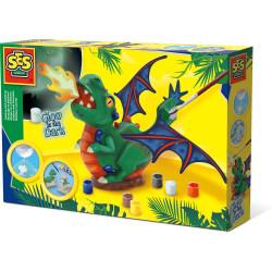 Moldear y pintar dragón SES Creative