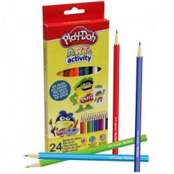 24 Lápices de colores Play-Doh