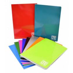 Cuaderno grapas tapa cartón  One Color 1 raya varios colores